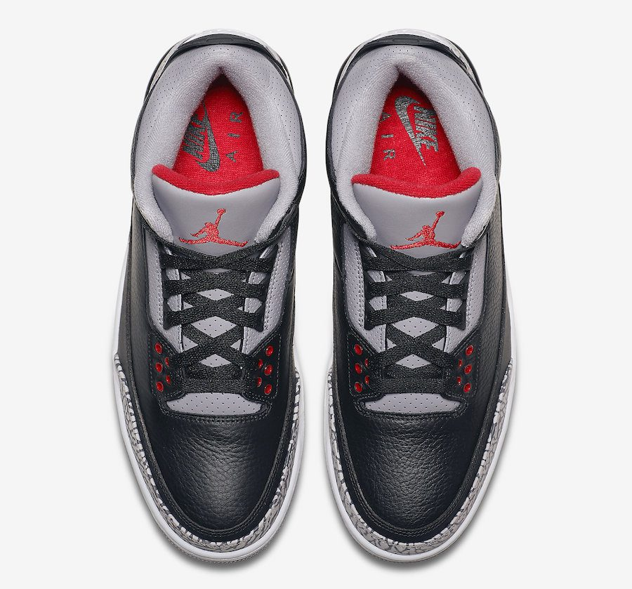 "online store 84f7a 8ced3 Air Jordan Retro 3 ""Black Cement"""